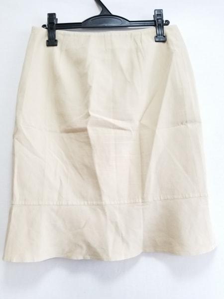 AKRIS(アクリス) スカート サイズ10US レディース ベージュ