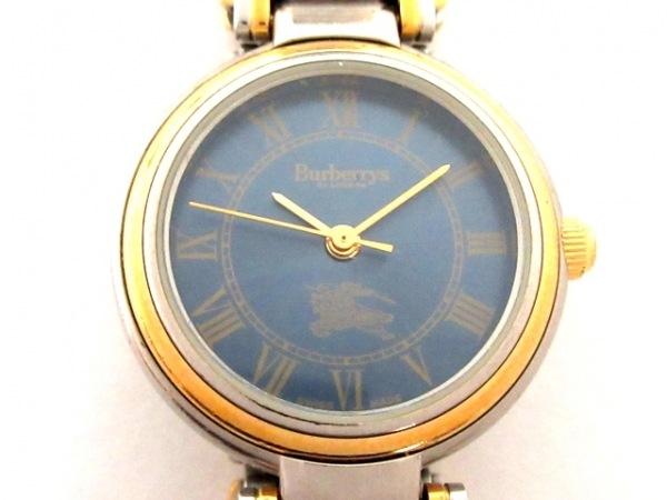 Burberry's(バーバリーズ) 腕時計 8000 レディース ブルー