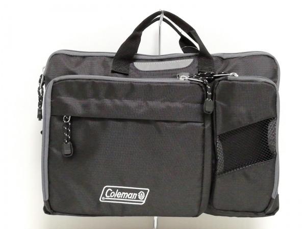 Coleman(コールマン) ハンドバッグ新品同様  黒×グレー ナイロン