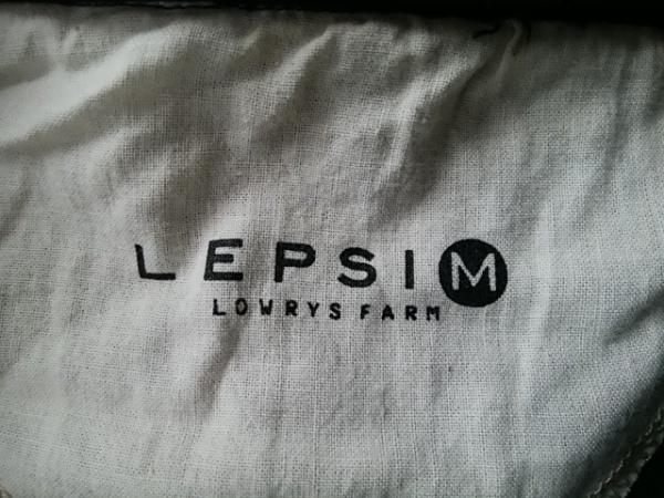 LEPSIM(レプシィム) コート サイズM レディース グレー×ダークグレー