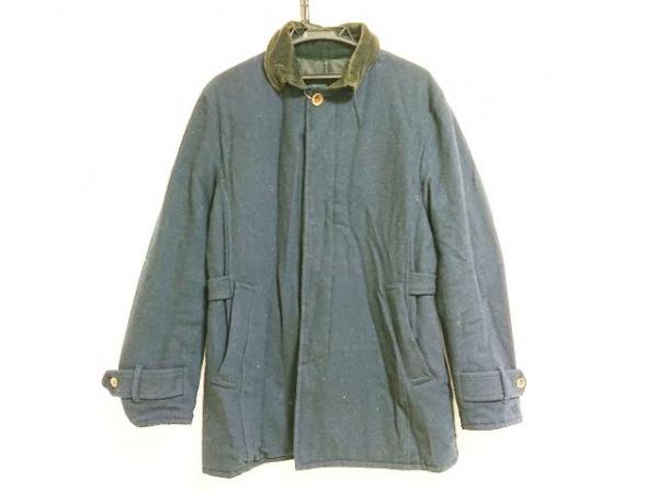 MEN'SBIGI(メンズビギ) コート サイズ3 L メンズ ダークネイビー 冬物