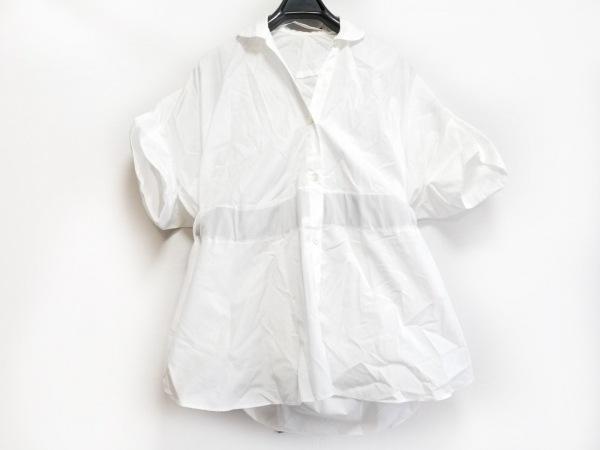 sakayori(サカヨリ) 長袖シャツブラウス レディース 白×黒