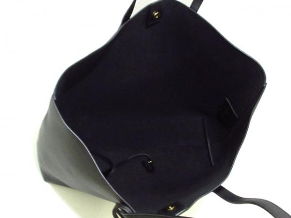 サンローランパリ トートバッグ美品  ショッピング 394195 黒 レザー