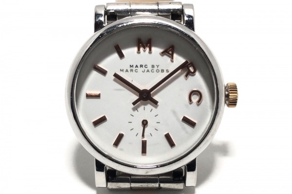 MARC BY MARC JACOBS(マークジェイコブス) 腕時計 MBM3331 レディース 白