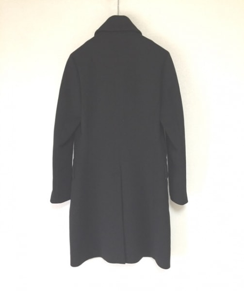 hLam(ラム) コート サイズ42 L メンズ 黒 冬物