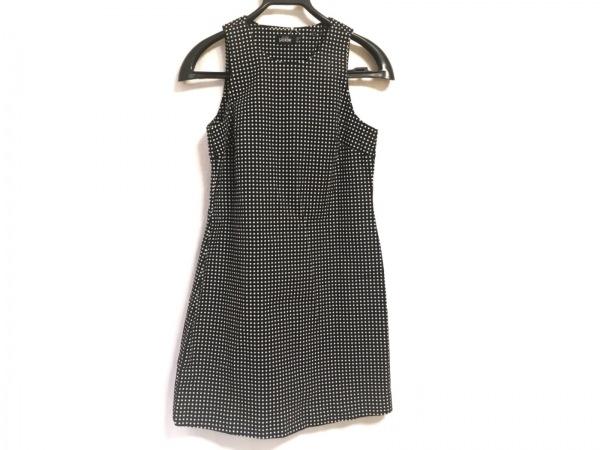 ケイトスペードサタデー ワンピース サイズ2 M レディース美品  黒×白