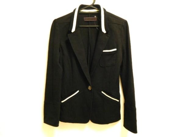 MURUA(ムルーア) ジャケット サイズ00 XS レディース美品  黒×白 七分袖