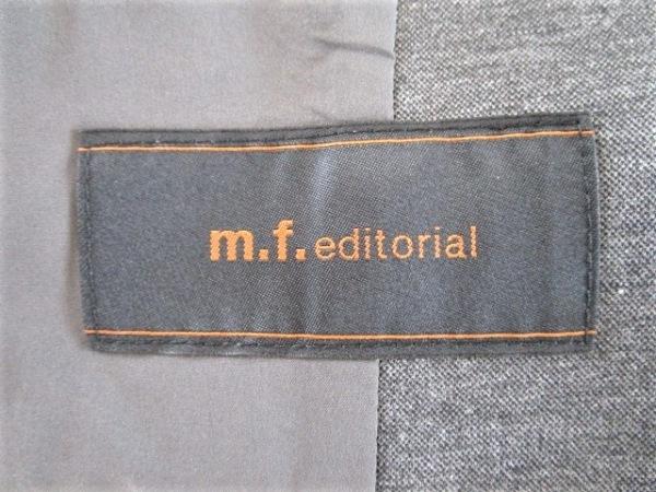 m.f.editorial(エムエフエディトリアル) スカートスーツ サイズS レディース グレー