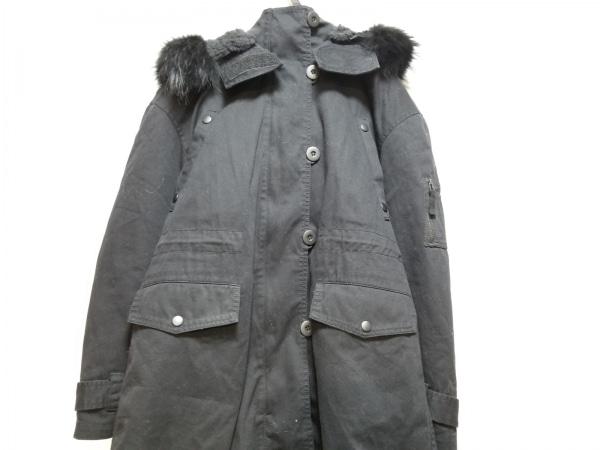 AULAAILA(アウラアイラ) コート サイズ0 XS レディース 黒 冬物