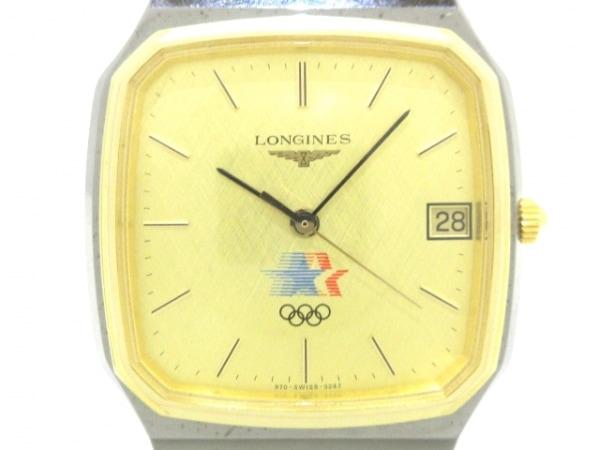 LONGINES(ロンジン) 腕時計美品  - メンズ オリンピック/LOSANGELES1984 ゴールド