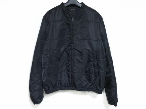 miumiu(ミュウミュウ) ダウンジャケット サイズ56 XL メンズ美品  黒 冬物