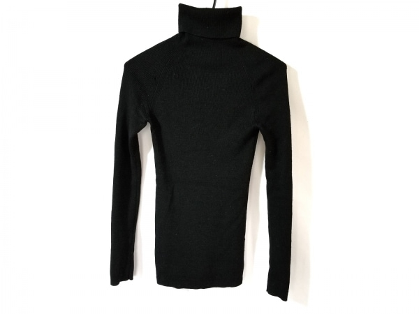 LIMI feu(リミフゥ) 長袖セーター レディース 黒 タートルネック