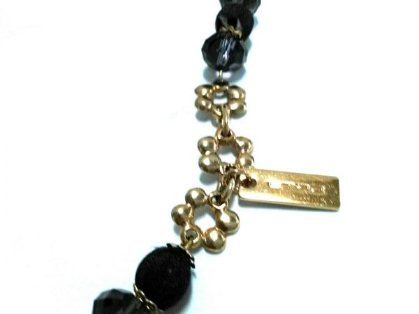 ETRO(エトロ) ネックレス美品  プラスチック×コットン×金属素材
