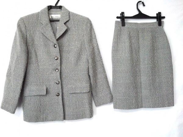 MISS CHLOE(クロエ) スカートスーツ サイズ40 M レディース グレー 冬物
