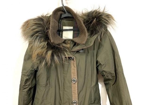 VIOLANTI(ヴィオランティ) コート サイズ42 L レディース カーキ ファー/冬物