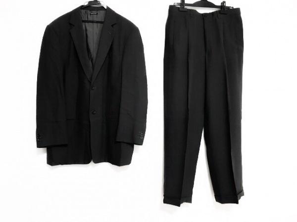 ジョルジオアルマーニ シングルスーツ サイズ50 M メンズ ダークグレー