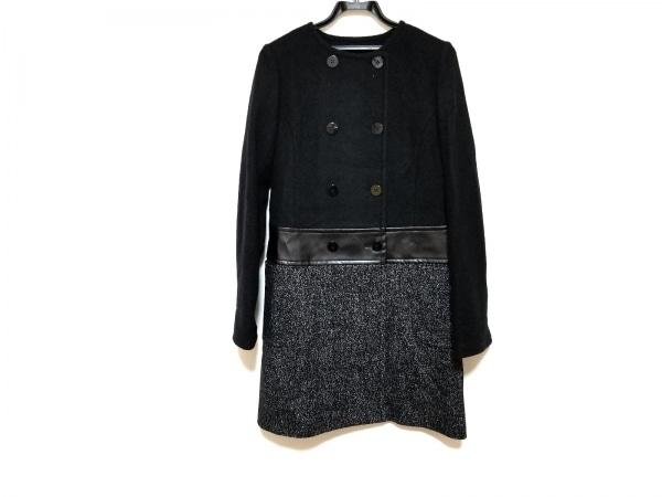 wb(ダブリュービー) コート サイズ38 M レディース美品  黒×白