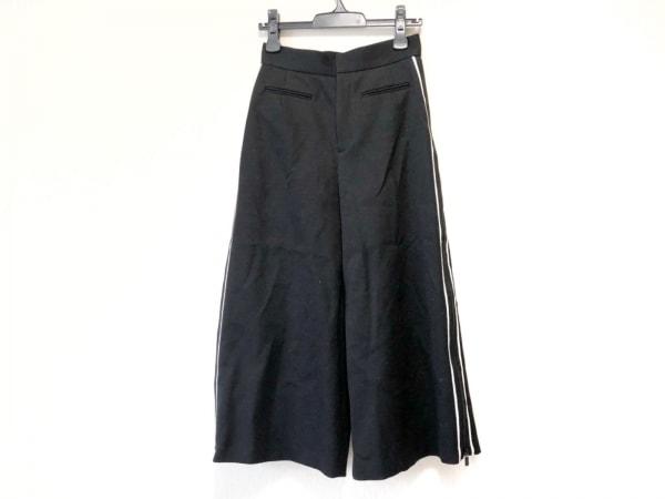 sakayori(サカヨリ) パンツ サイズ36 S レディース 黒×アイボリー