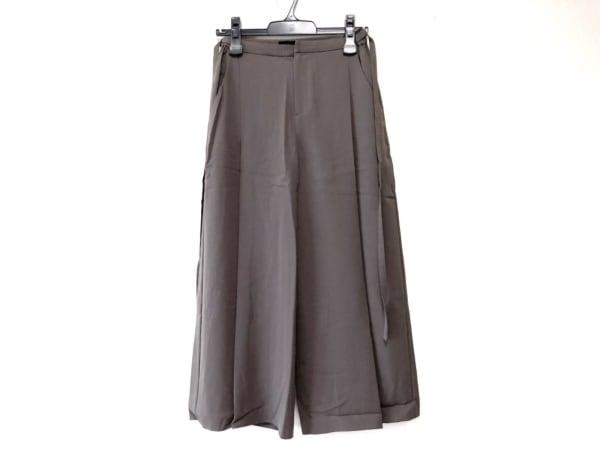 AULA(アウラ) パンツ サイズ0 XS レディース カーキ
