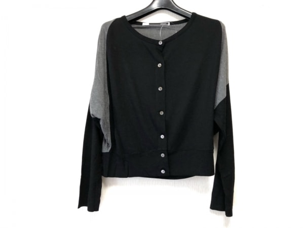 sakayori(サカヨリ) カーディガン レディース美品  黒×ダークグレー