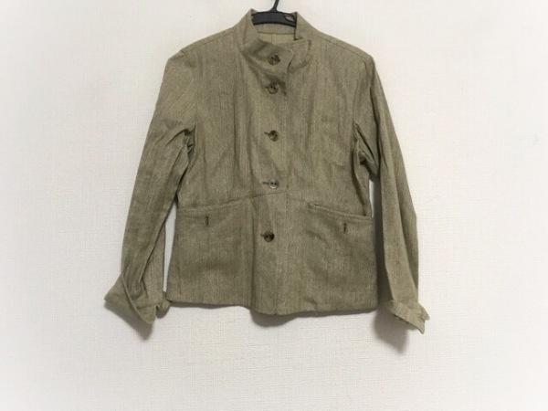 ジャンニロジュディチェ ジャケット サイズ36 S レディース美品  モスグリーン