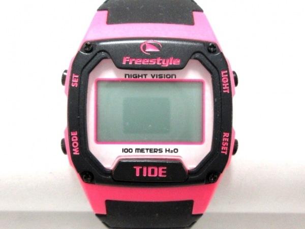 Freestyle(フリースタイル) 腕時計美品  A126-12 レディース ラバーベルト 白