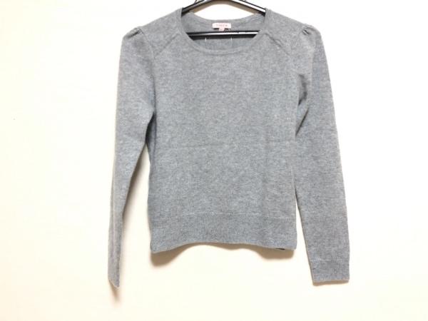 TOCCA(トッカ) 長袖セーター サイズXS レディース グレー カシミヤ