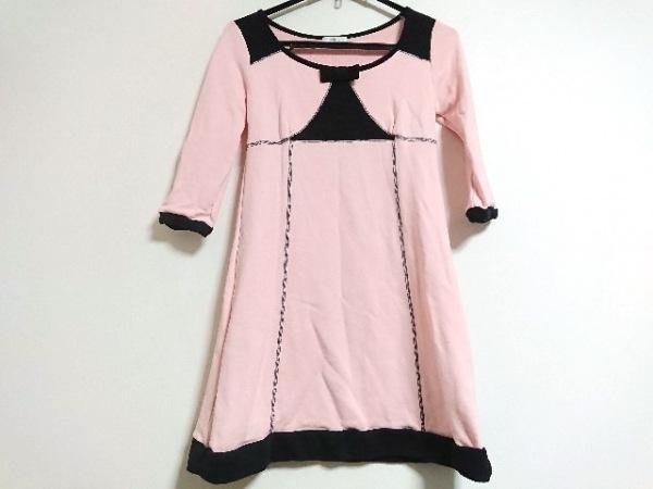 MILK(ミルク) ワンピース レディース美品  ピンク×黒