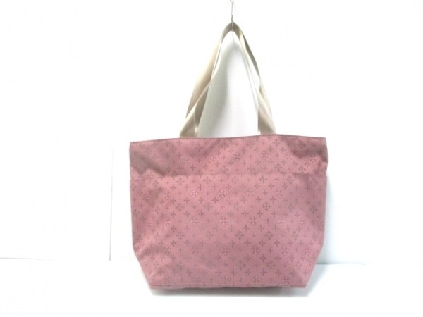 デイリーラシット ショルダーバッグ美品  ピンク×シャンパンゴールド×マルチ