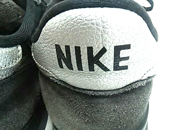 ナイキ スニーカー 7 6 40 25 メンズ美品  631754-003 黒×ダークグレー×シルバー