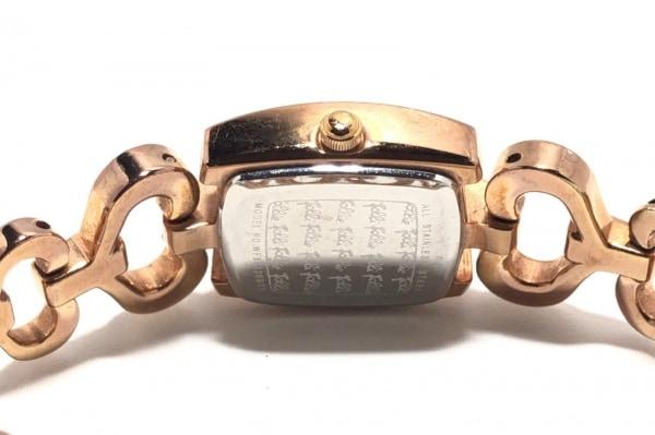 フォリフォリ 腕時計 WF5R120BBS レディース ラインストーンベゼル 4