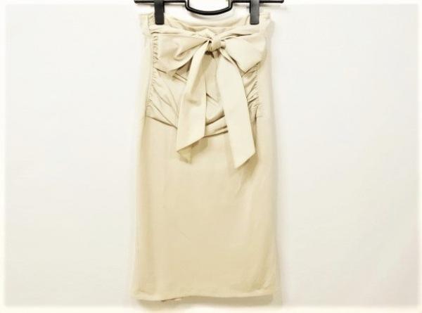 MATERIA(マテリア) スカート サイズ36 S レディース ベージュ