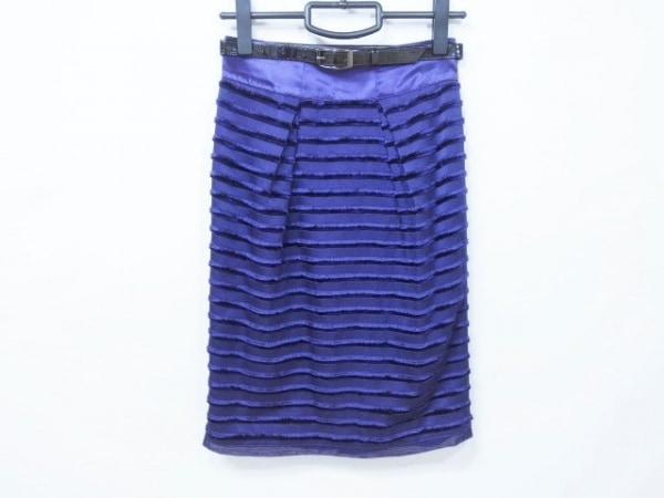 MATERIA(マテリア) スカート サイズ36 S レディース美品  パープル
