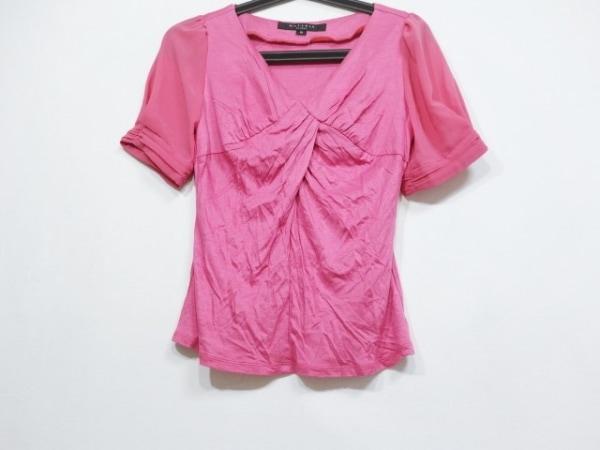 MATERIA(マテリア) 半袖カットソー サイズ38 M レディース美品  ピンク