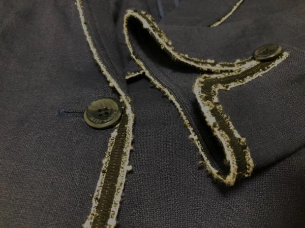 mila schon(ミラショーン) スカートスーツ サイズ40 M レディース ダークネイビー×白