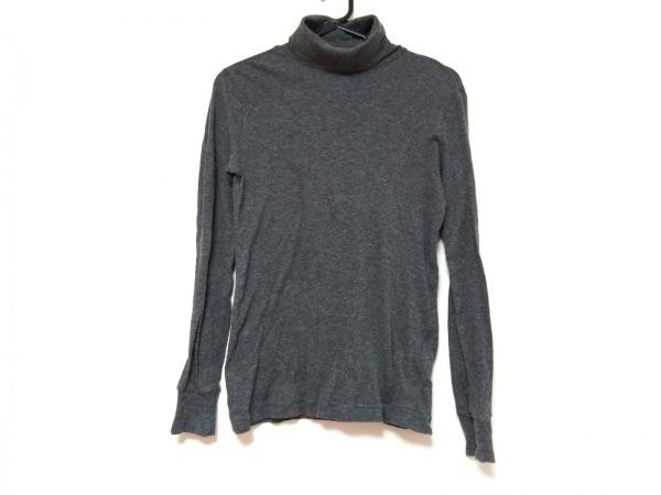homspun(ホームスパン) 長袖セーター サイズF F レディース グレー タートルネック