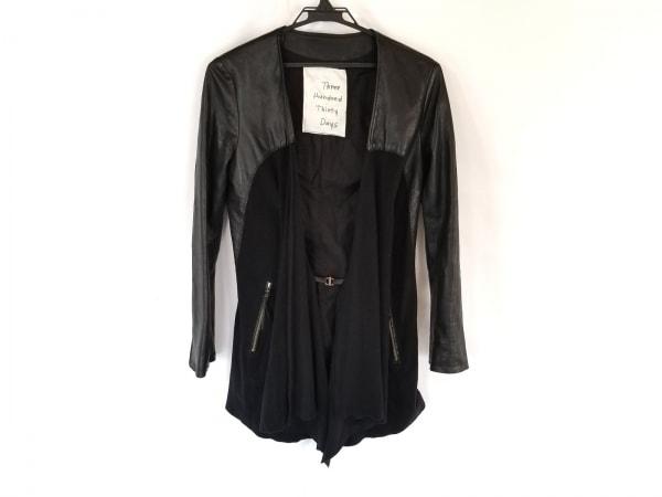 スリーハンドレッドサーティーデイズ ジャケット サイズ38 M レディース 黒