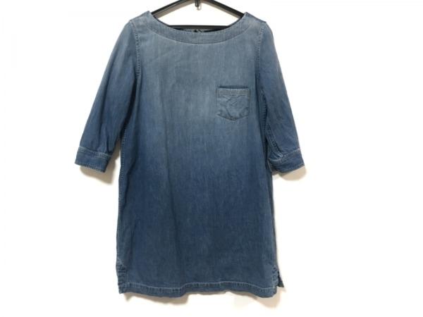 アメリカンラグシー ワンピース サイズF レディース美品  ライトブルー デニム