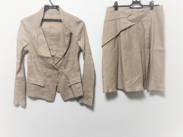 RITSUKO SHIRAHAMA(リツコシラハマ) スカートスーツ サイズ1 S レディース ベージュ