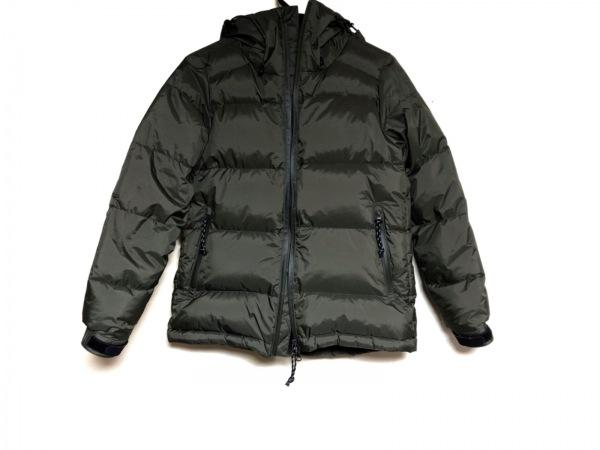 AURORA(アウロラ) ダウンジャケット サイズ1 S レディース ダークグリーン 冬物