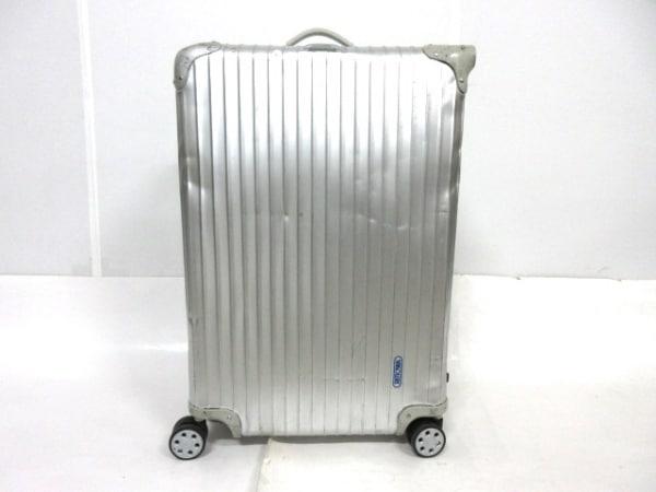 RIMOWA(リモワ) キャリーバッグ シルバー TASロックNo【630】 アルミニウム