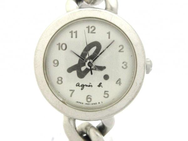 agnes b(アニエスベー) 腕時計 V401-0850 レディース 白