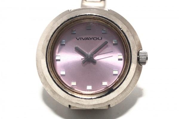 VIVAYOU(ビバユー) 腕時計 - QW4B レディース ピンク