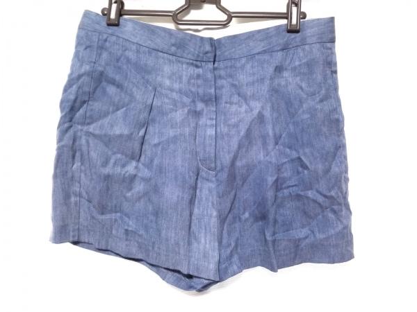 Acne(アクネ) ハーフパンツ サイズ36 M レディース美品  ブルー