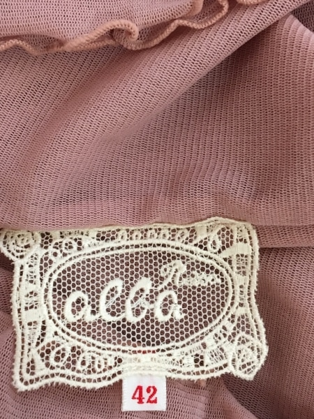ROSSA(ロッサ) 長袖カットソー サイズ42 L レディース ピンク フラワー