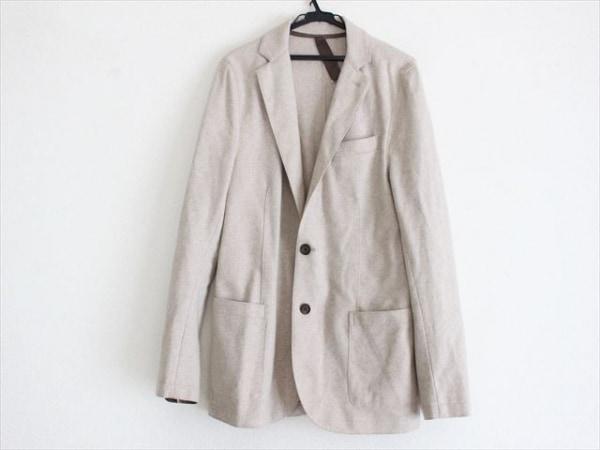 eleventy(イレブンティ) ジャケット サイズ48 XL メンズ美品  ベージュ