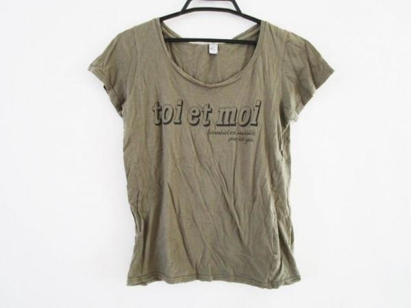 Maison de Reefur(メゾン ド リーファー) 半袖Tシャツ サイズ38 M レディース カーキ