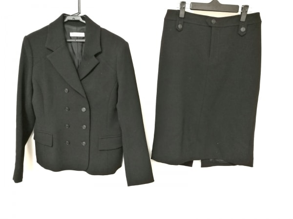 DAMAcollection(ダーマコレクション) スカートスーツ レディース 黒 HIROMI OSHIDA