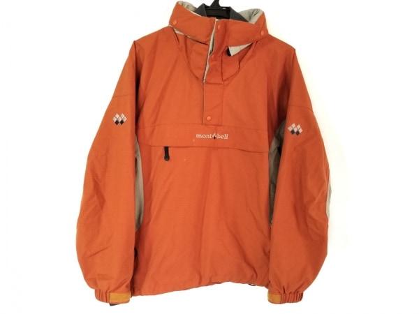 mont-bell(モンベル) ブルゾン サイズS メンズ オレンジ×ライトグレー