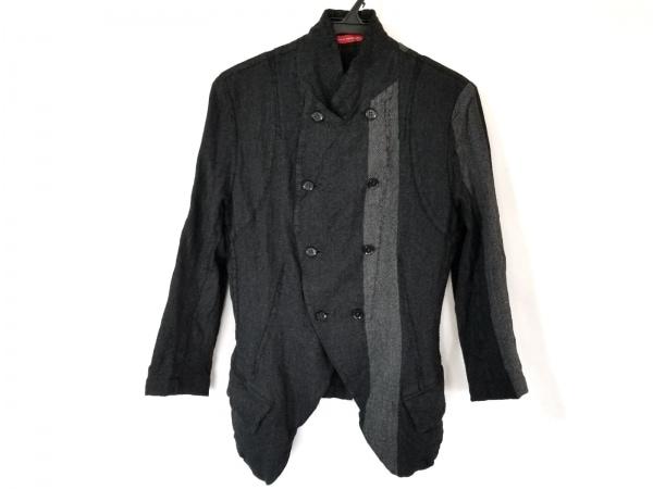 ワイズレッドレーベル ジャケット サイズ3 L レディース ダークグレー×グレー